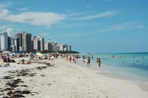 Der Strand von Miami