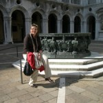 Im Hof des Dogenpalastes