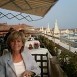 Herrlicher Blick von der Terrasse des Hotels Danieli