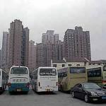 Einige der Hochhäuser