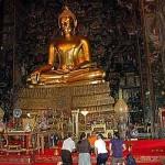 Imposanter Buddha