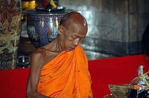 Einer von vielen Mönchen
