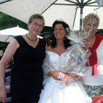 Auch einmal mit der Braut